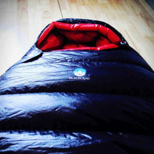 BlackCrag sleeping bags and down products