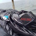 BlackCrag goose down sleeping bag veclro
