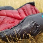 BlackCrag goose down sleeping bag field